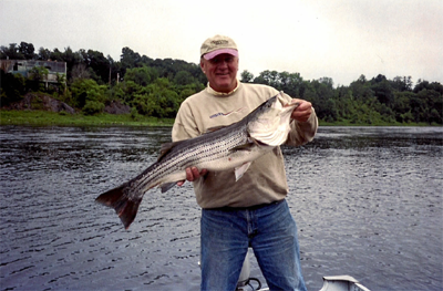 Fish for maine stripers guided striped bass fishing for Maine bass fishing
